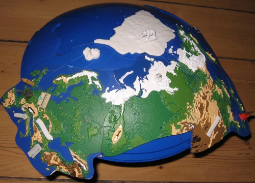 Foto Baustand Globus